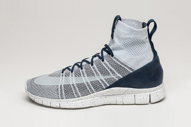 bd52e585907b The Nike Free Flyknit Mecurial Goes Platinum — Sneaker Shouts