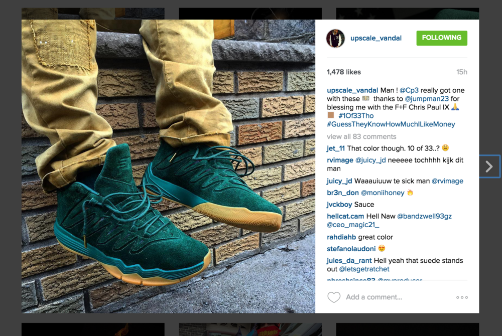 Family-Friends-Jordan-CP3-IX-Green-Suede