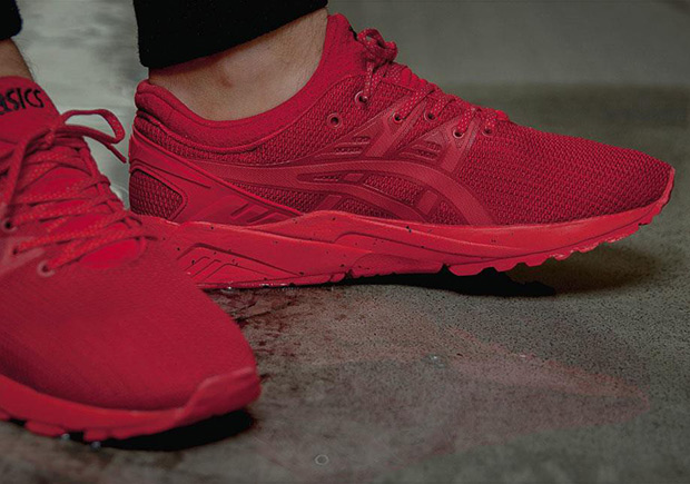 ASICS is jumping on the latest trend of allred