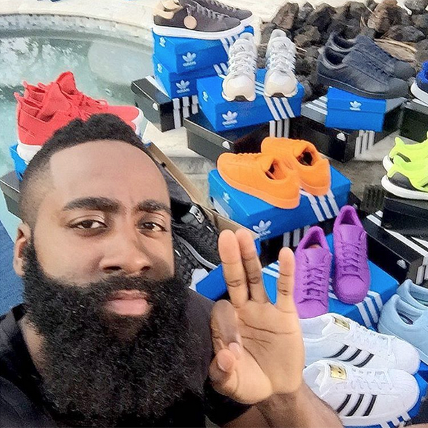james harden adidas drop off