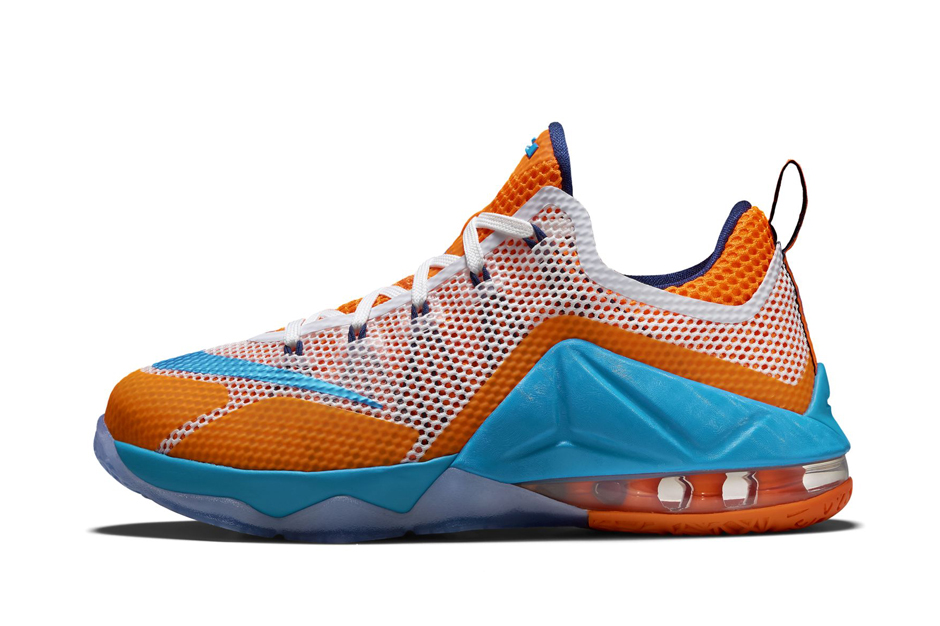 sports shoes 9538b 3b9f6 nike-lebron-12-low-gs-cavs-90s-colorway-