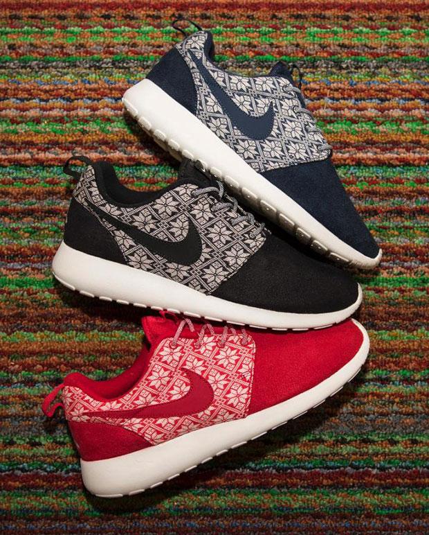 Nike Roshe run black and white speckle UK 6 Depop