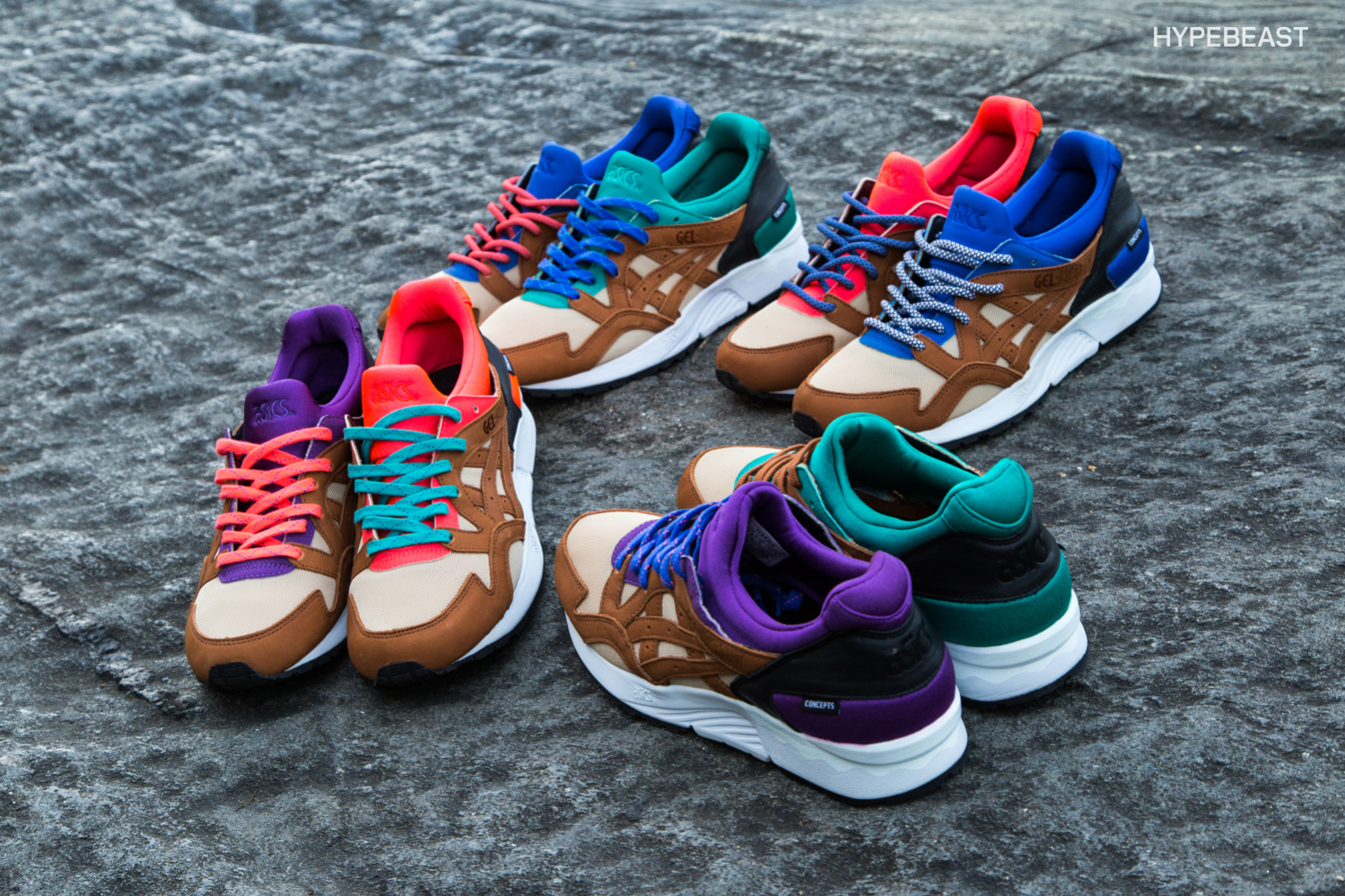 Closer Look at the CNCPTS x ASICS Gel Lyte V