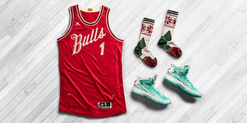 e2752d468e3ec Adidas and Stance Socks unveiled the NBA special edition Christmas uniforms  for Christmas Day match-ups. Designed as part of Adidas Season's Greeting  ...