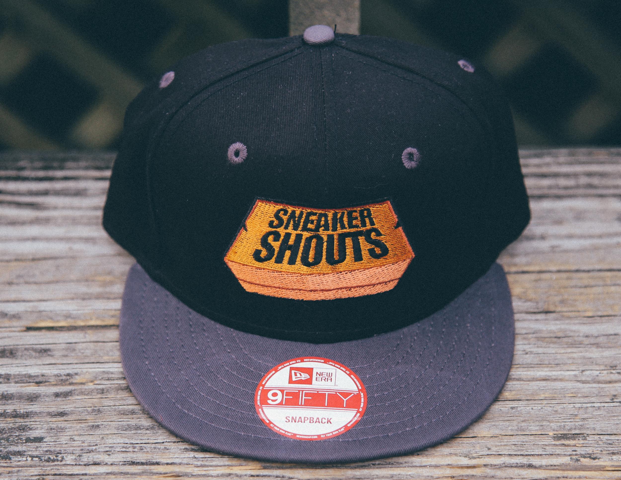 1b4936577cf Custom SneakerShouts Box Logo SnapBack by CapBeast.com — Sneaker Shouts