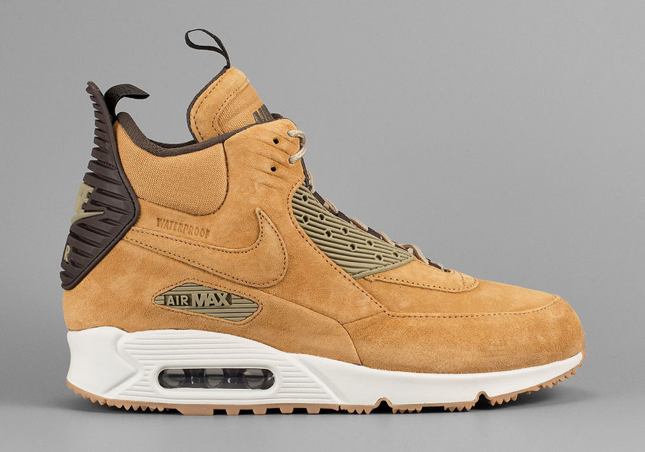 new products 48c47 bae27 ... norway the nike air max 90 sneakerboot gets a wheat makeover u2014  sneaker shouts 38f33 a44a1