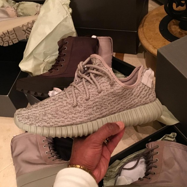 """Another Look At The adidas Yeezy 350 Boost """"Moonrock"""
