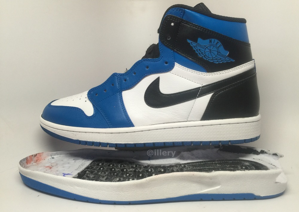 "Air Jordan 1.5 ""Soar"" Sole Swap by @illery — Sneaker Shouts"