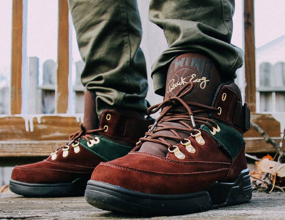 Ewing-Athletics-Ewing-33-Hi-Winter-Roast-Green-Gold-On-Foot-6909.jpg