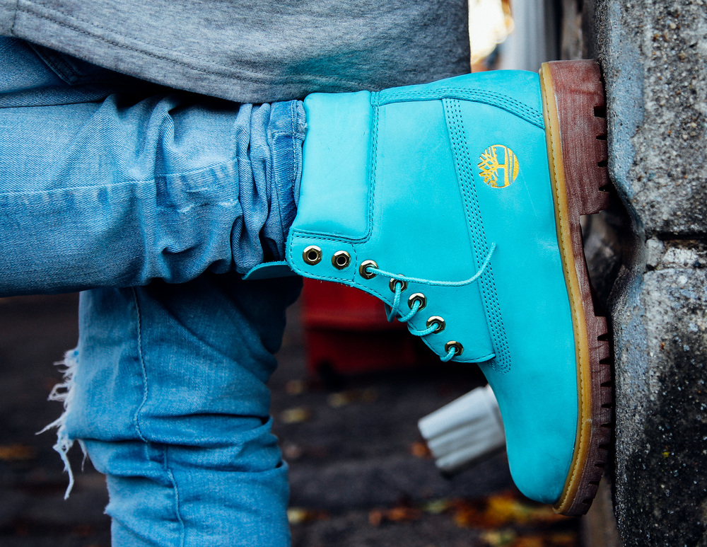 On Foot Look at the Wale x RuVilla x Timberland 6