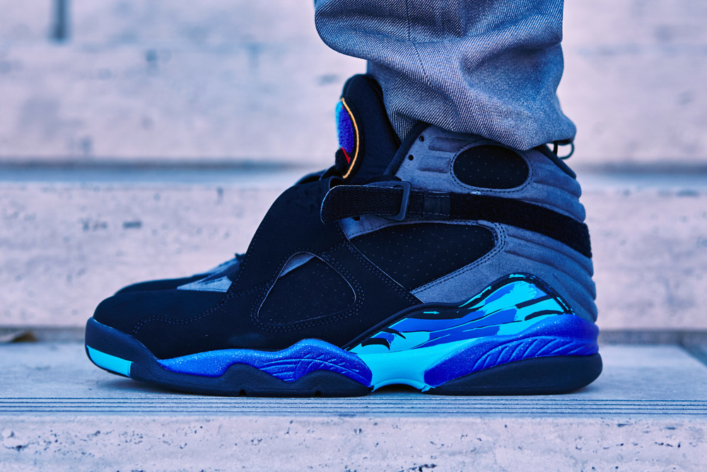 separation shoes 757f8 5c1a8 On Foot Look at the 2015 Air Jordan 8 Retro