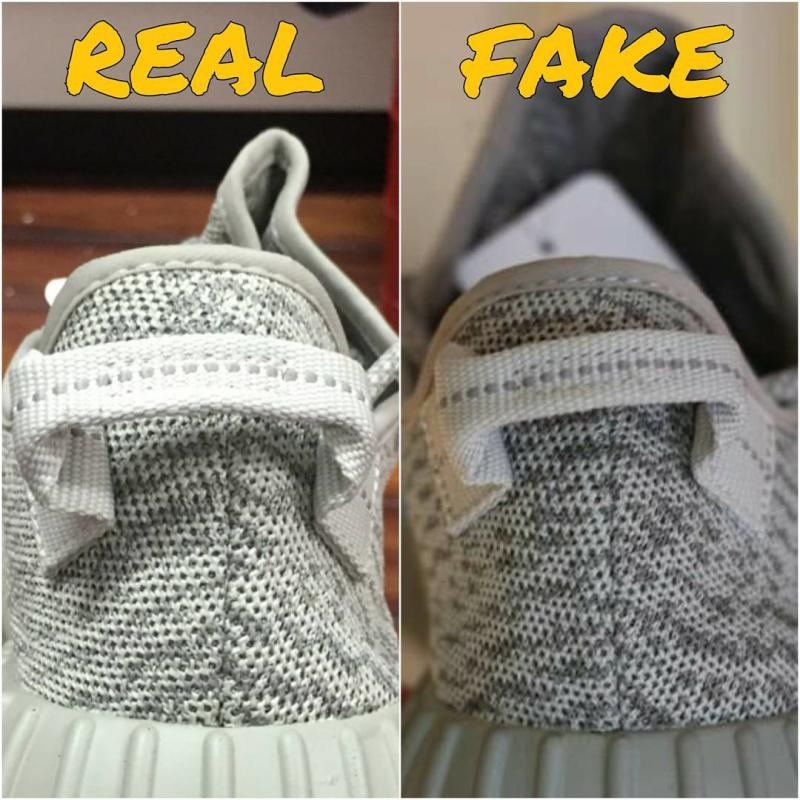 adidas yeezy original and fake