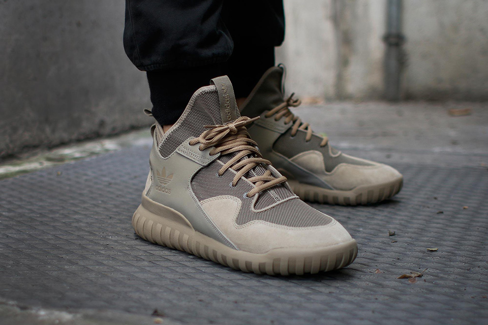 Adidas Tubular X On Feet