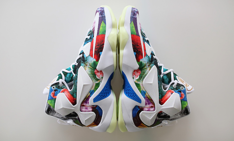 39c58eaca484 Detailed Look at the Nike LeBron 13