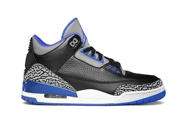 December 13th Air Jordan 3 Retro Sport Blue