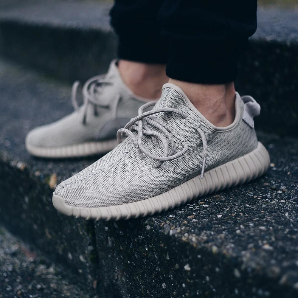 The sneaker is called the yeezy boost 350 oxford tan
