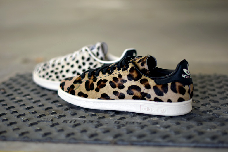 Adidas Stan Smith Leopard Women Shoes