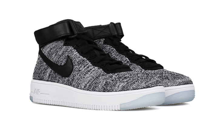 wmns air force 1 flyknit - oreo