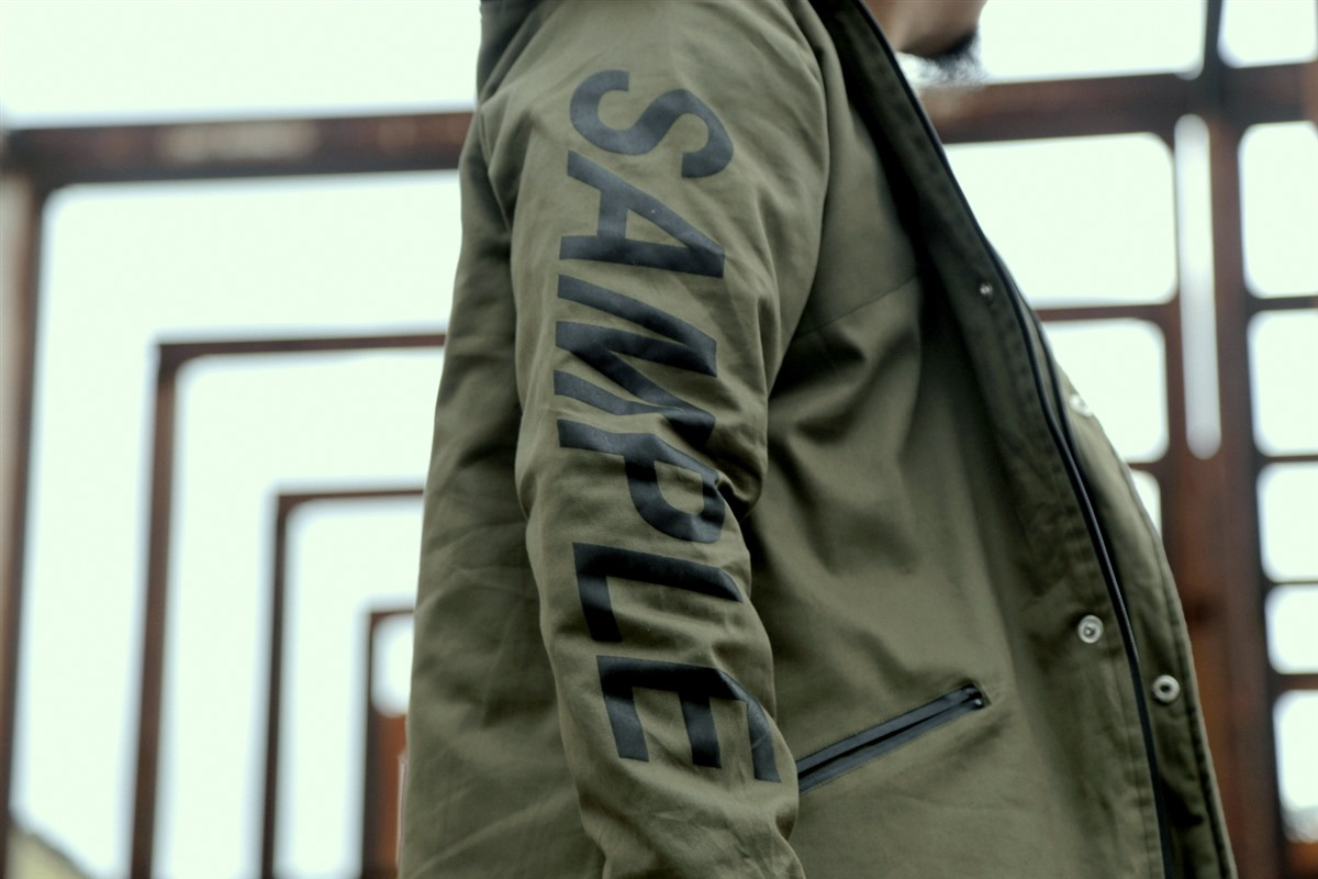 Sample Industries Foxtrot Fishtail Parka Releases This Weekend