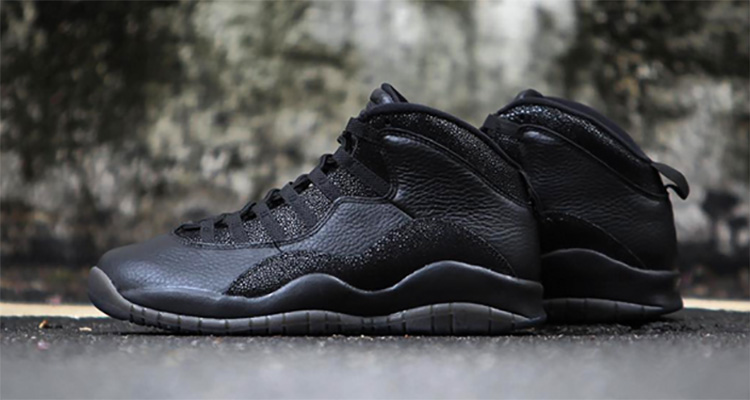 25ef6391f445 The Black OVO x Air Jordan 10 Are Releasing This Month — Sneaker Shouts