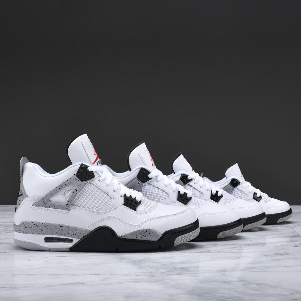 ab6ab7489cc Nike Air Jordan 4 Retro White Cement 5 Air Jordan 4 White Cement ...