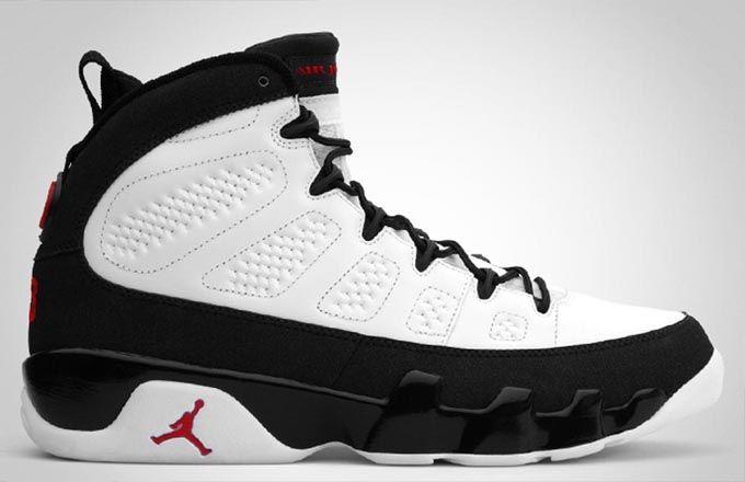 Air Jordan 9 Coloris Originaux Contacts