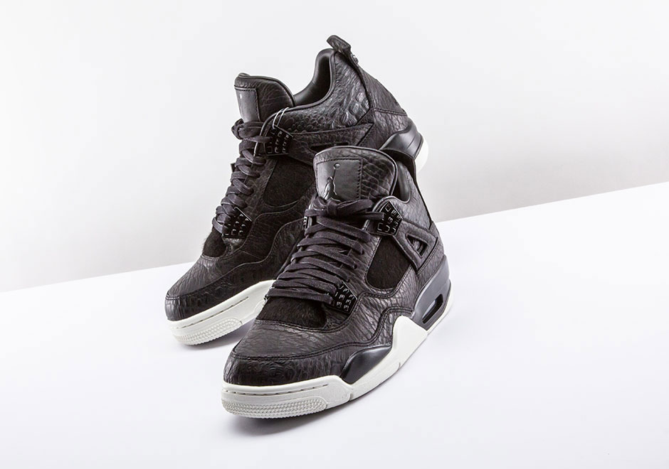 Jordan 4 Pinnacle Black