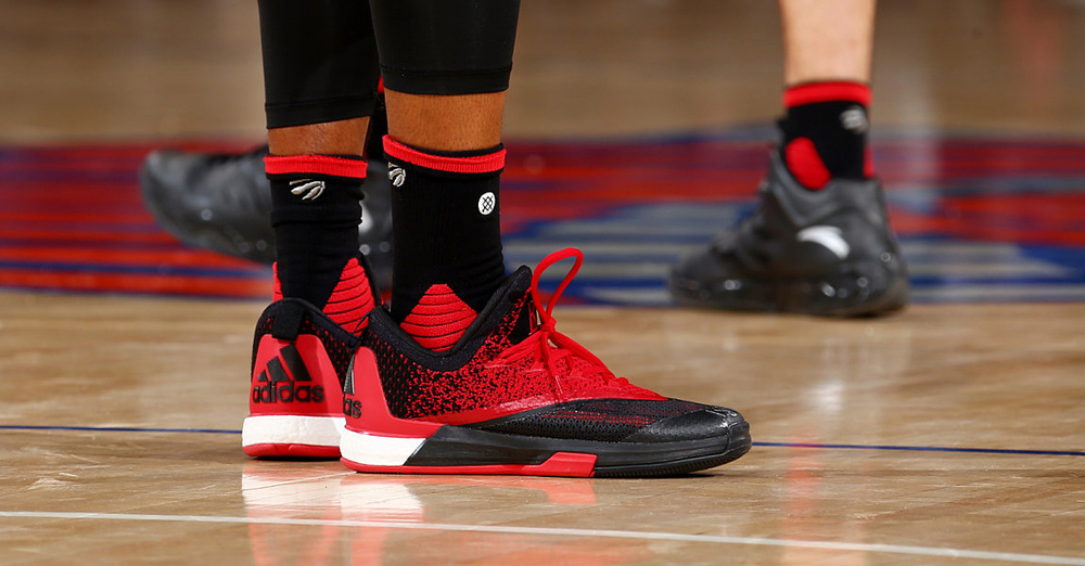 e5e7e7c17f4d Exclusive Look at Kyle Lowry s Adidas Crazylight Boost 2.5
