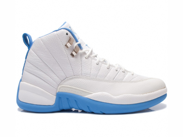 low priced 74a45 a151c sale new jordan 12 blue and white d2d67 3ea52