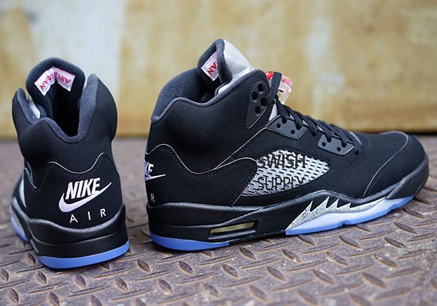 f3602cdf34b405 ... low price closer look at the air jordan 5 black metallic release info  u2014 sneaker shouts