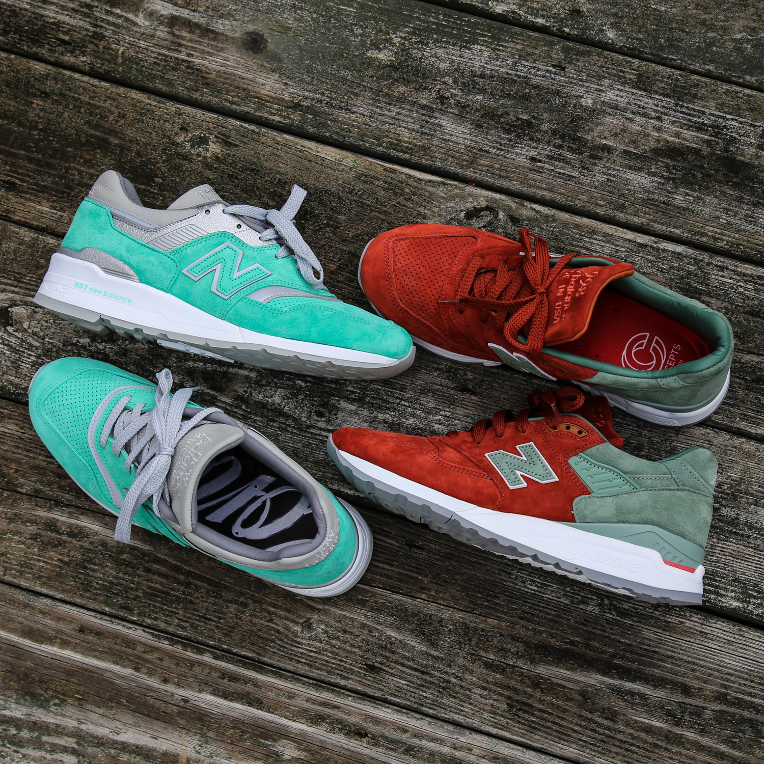 cheap for discount 9cf96 97d9b Now Available  Concepts x New Balance