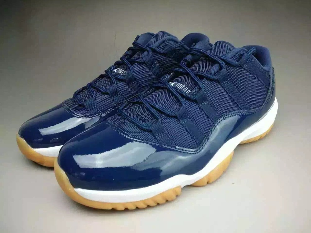 newest 738ec e8cbc air-jordan-11-low-midnight-navy-gum-01.