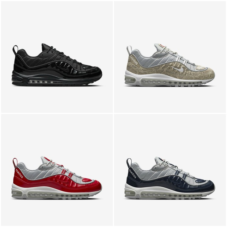 air max 98 nikelab x supreme