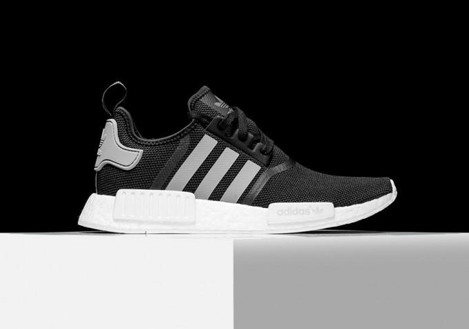 adidas nmd r1 black grey