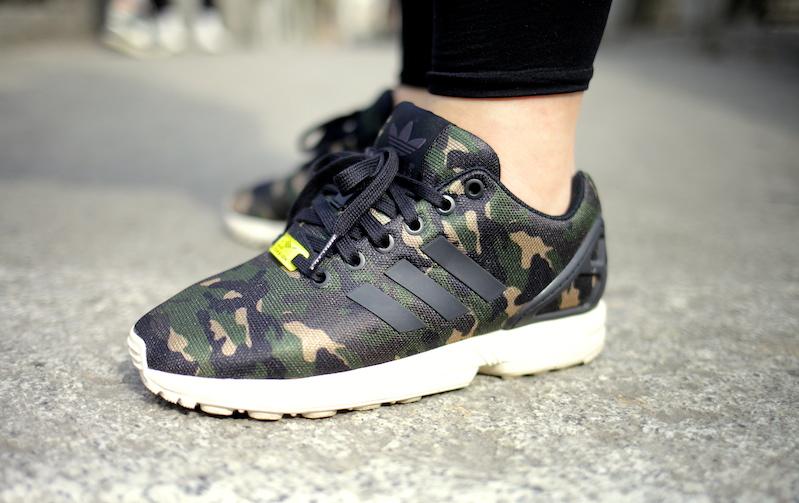 Adidas Zx Flux Camo smithsestates.co.uk