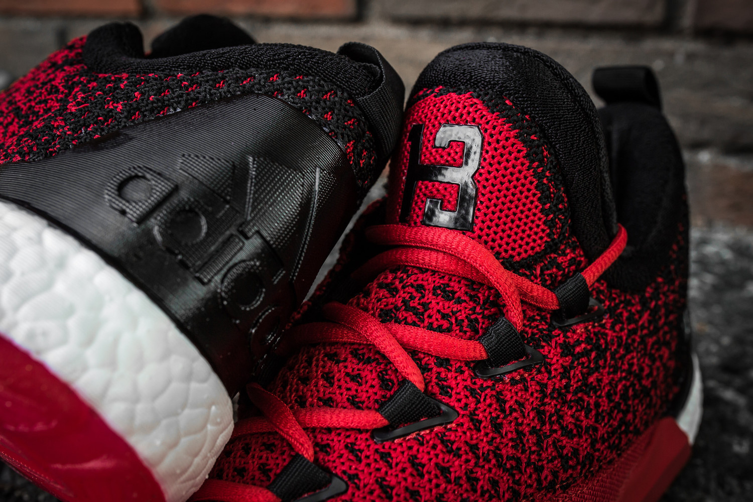 Adidas crazylight boost low 2016 bred black red mens basketball shoes - 5_adidas_crazylight_boost_2 5_low_harden_red Black 9_2048x2048 Jpg