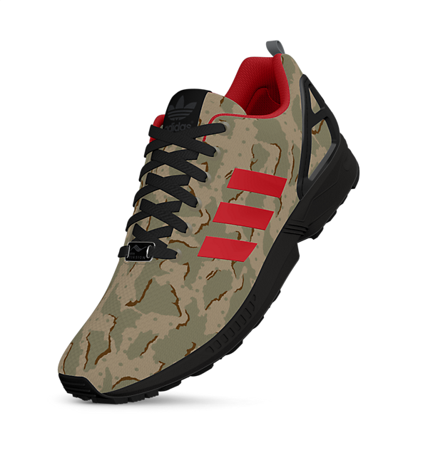 e27e58b678bf Create Your Own Adidas ZX Flux Colorway — Sneaker Shouts