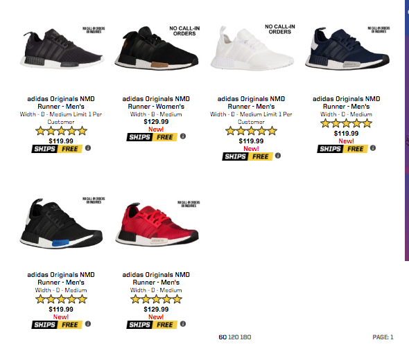 56e255eff0bf Restock  Adidas NMD via Eastbay — Sneaker Shouts