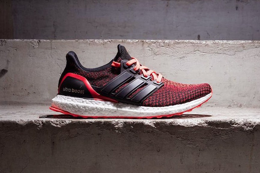 Adidas Ultra Boost 2.0 Custom Solar Red AQ5930