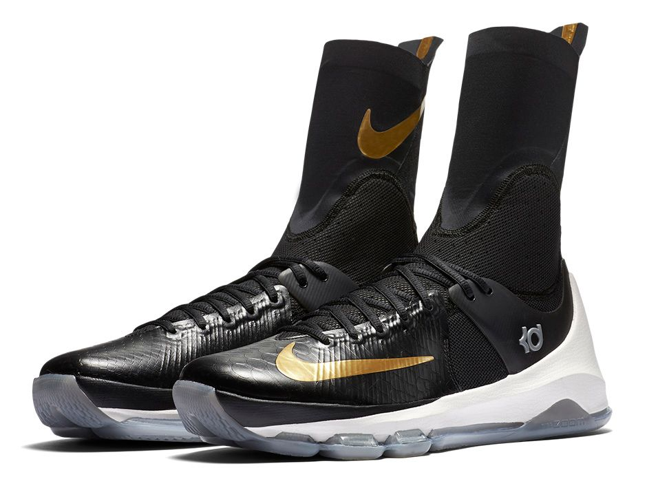 Black And Gold Kevin Durant Shoes