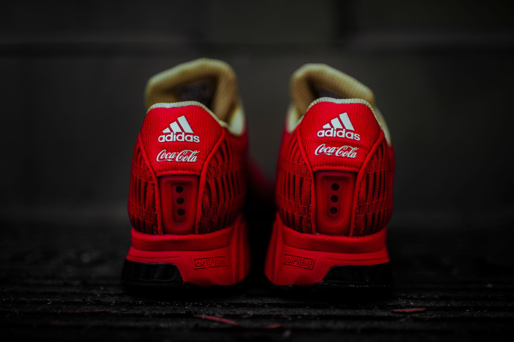 new concept 4a200 452b2 Now Available: Coca Cola x Adidas Climacool 1 — Sneaker Shouts