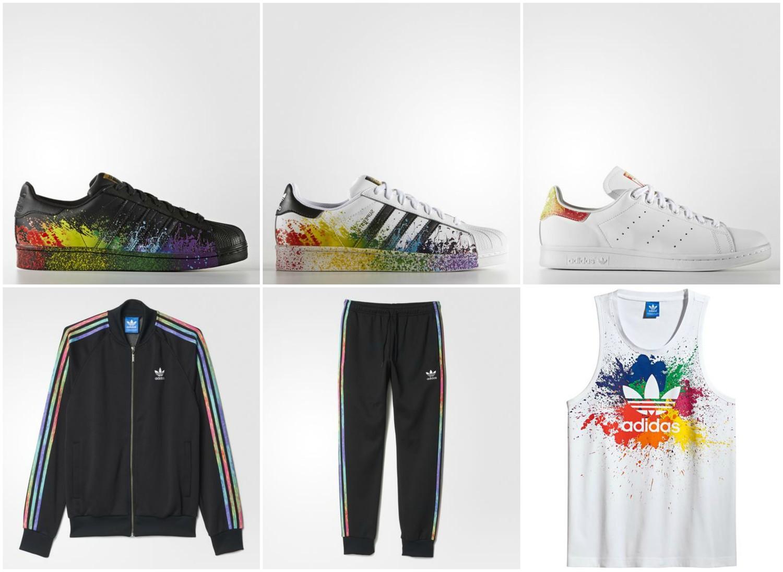 buy popular dba55 a3644 Now Available: Adidas Originals LGBT