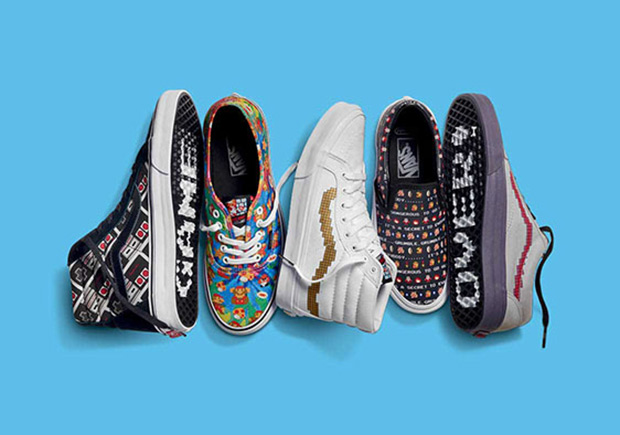 Vans x Nintendo Collection Online Links with 20% OFF