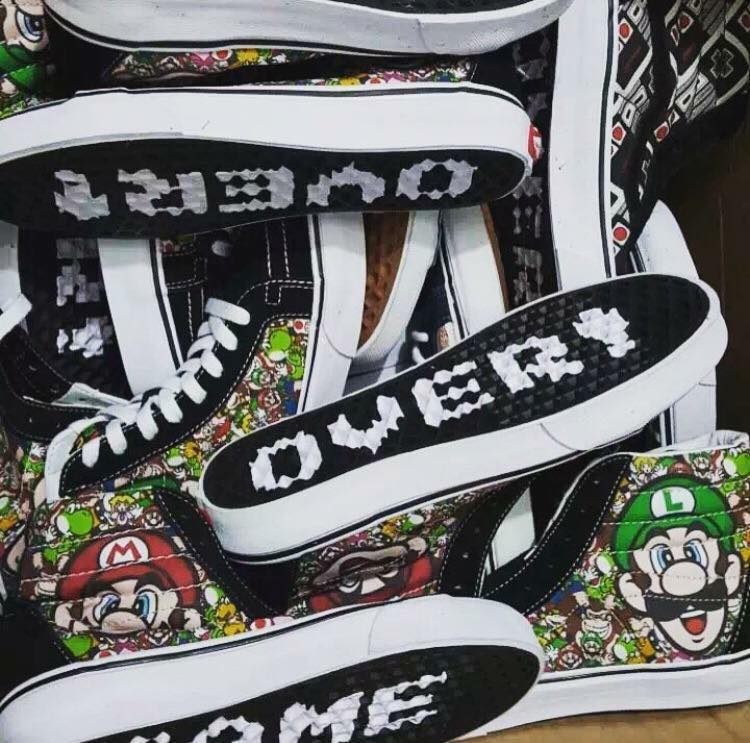 ab6ea44f75 Deal of the Day  20% OFF Vans x Nintendo Collection — Sneaker Shouts