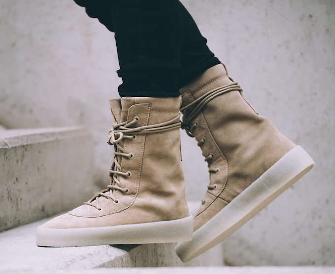 e03e3ffd7 Now Available  Yeezy Season 2 Crepe Boot — Sneaker Shouts