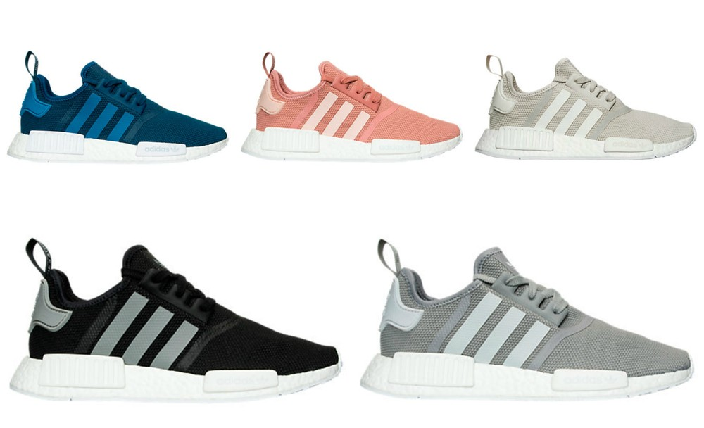 7ace0144caa39 Adidas Nmd R1 Pk Tri Color Black Size 9.5 Cheap NMD R1 Tri Color