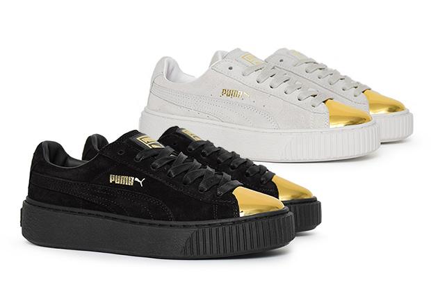puma scarpe suede platform
