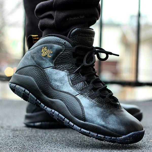 Nike Air Jordan 10 Retro Nyc jeu avec paypal Footlocker pas cher ZlapAO4