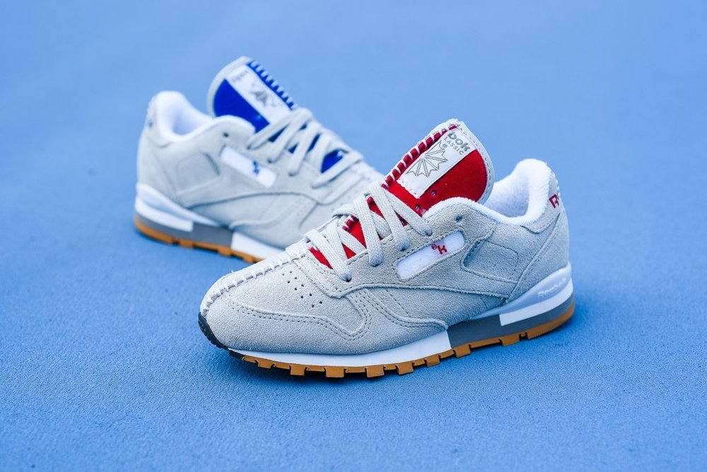 ca691279aaa7 Now Available  Kid s Kendrick Lamar x Reebok Classic Leather
