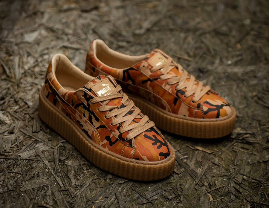 finest selection 278d7 8f9ac Sneaker Links: Rihanna x Puma Creeper